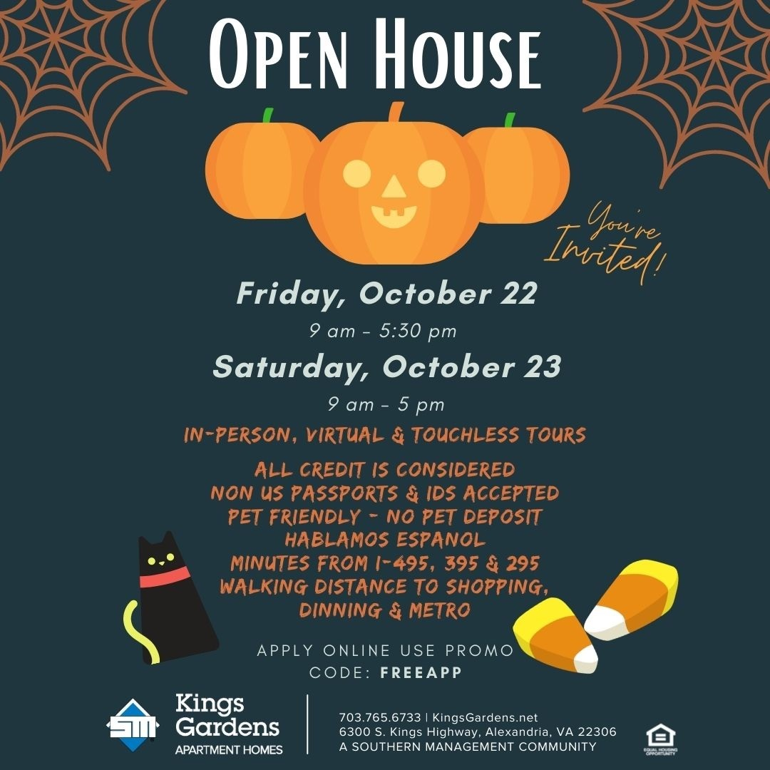 Open House, Oct 22-23