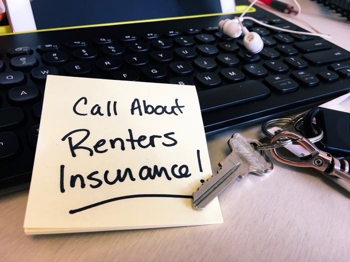 reminder to call about renters insurance